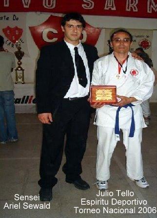 PREMIO AL ESPIRITU DEPORTIVO 2006