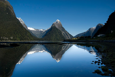 Milford Sound Mitre Peak