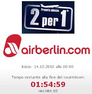 promozione Airberlin