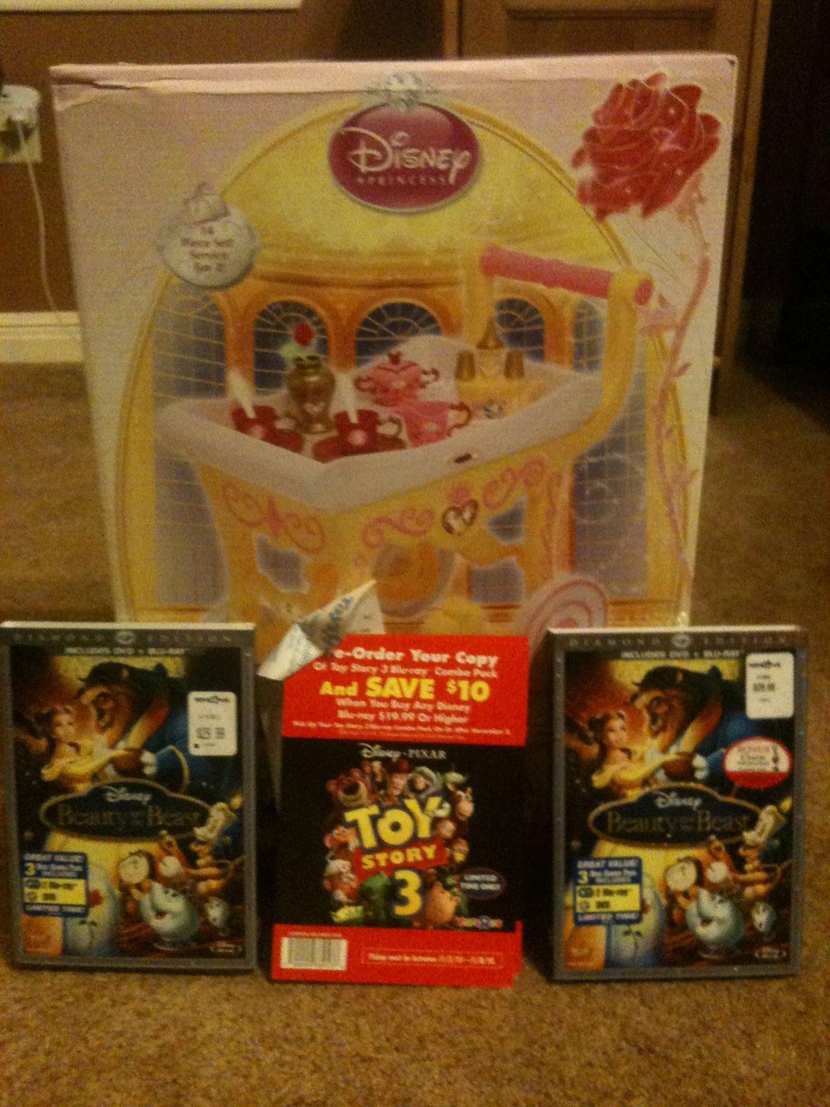 Toys R Us Dvd : Texa aver deal alert toys r us beauty and the beast dvd