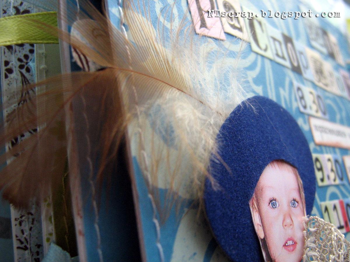 Фото ребенок приклеен скотчем к стене