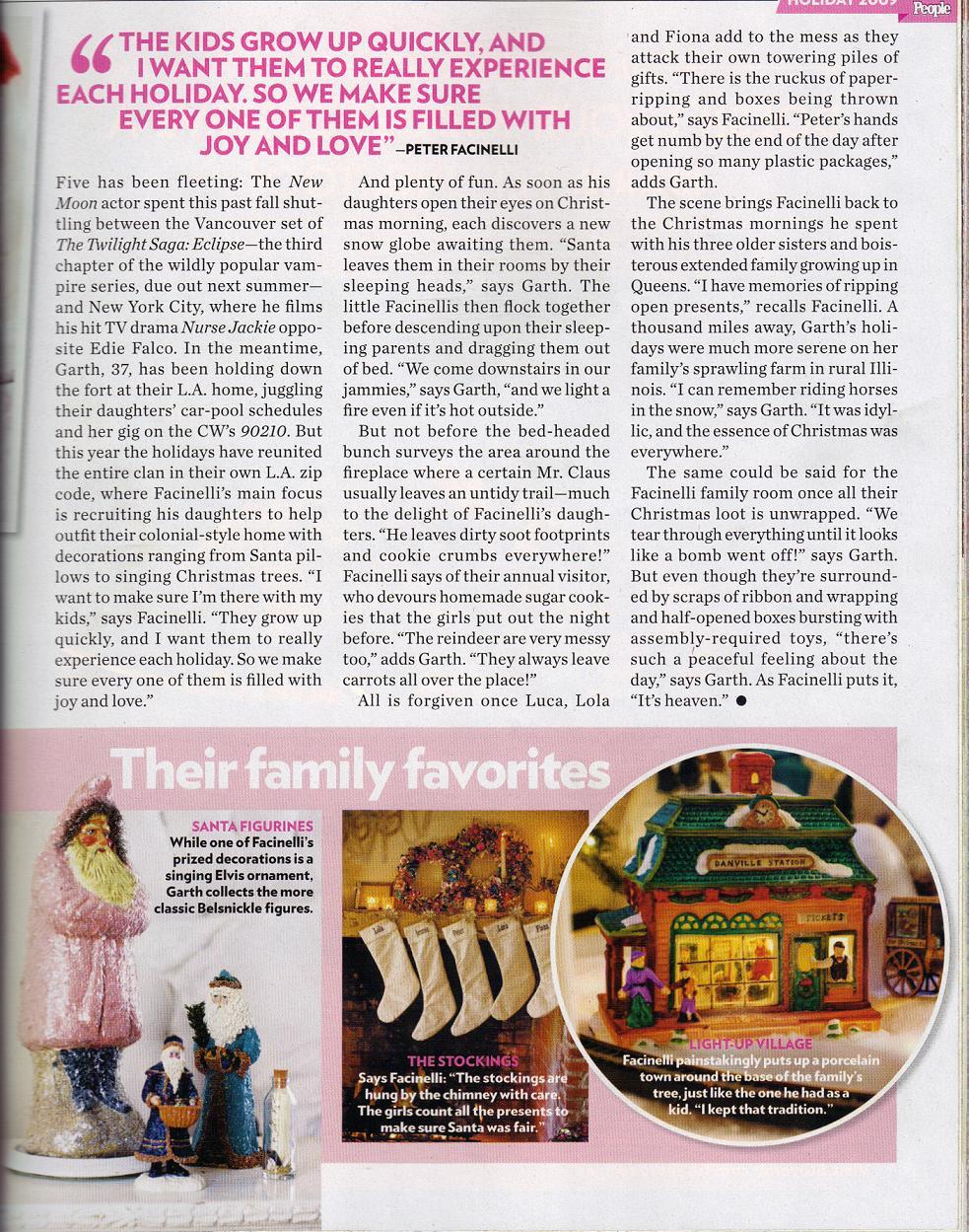 Twilight saga canada peter et jennie la une du magazine for Magazine interieur