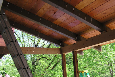 Greengate ranch remodel backyard 5 patio cover roof for T g roof decking