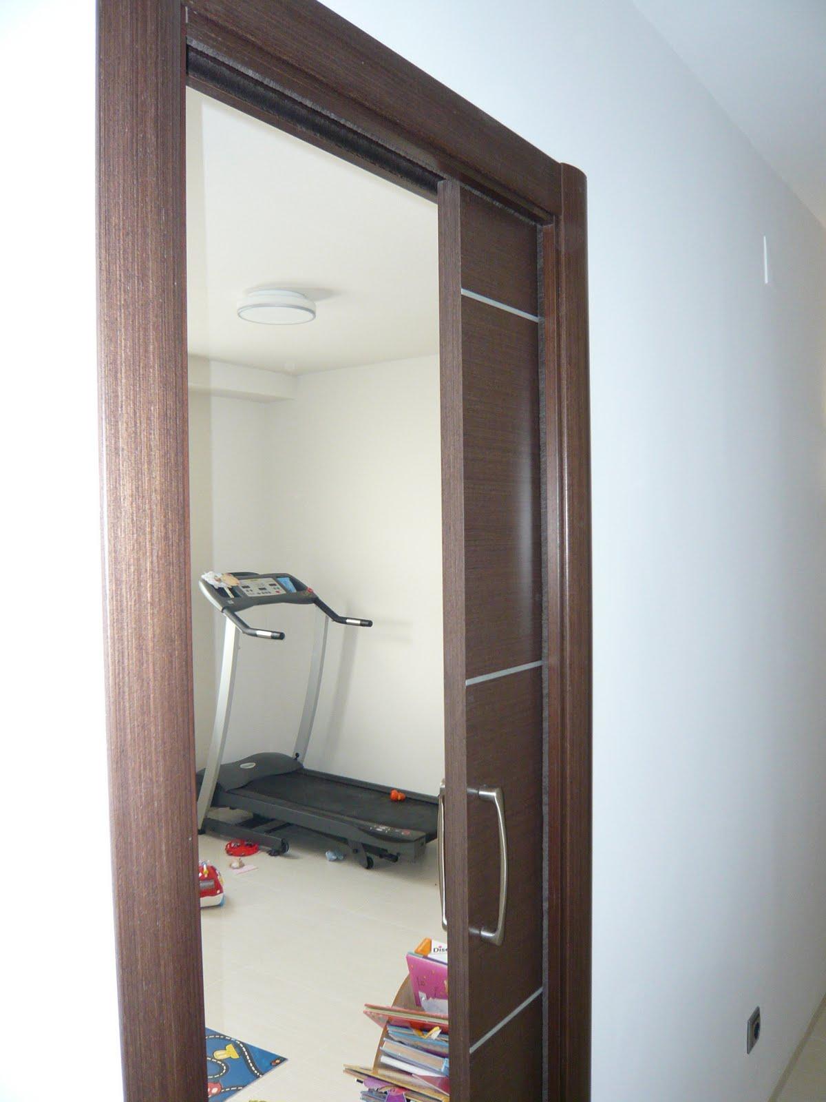 Reuscuina puertas interiores de wengue - Sistemas de puertas correderas interiores ...