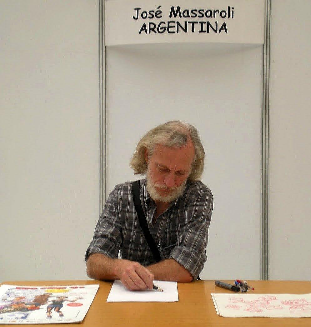 José MASSAROLI, Historietista: Así fue la Expo-Comic 09 y ...