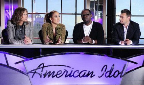 Susunan juri baru untuk American Idol 2011. Situs dan blog resmi American Idol.