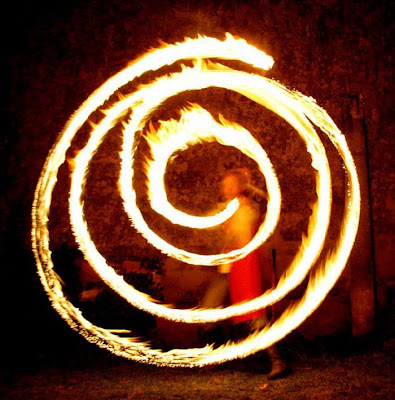 Amazing Art Of Fire Dancing