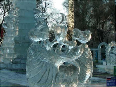 Incredible Man Made Ice Sculptures