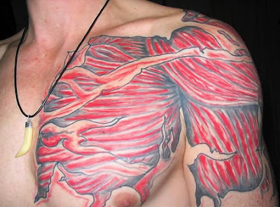 Most Weird Anatomical Tattoo Art Seen On www.coolpicturegallery.net