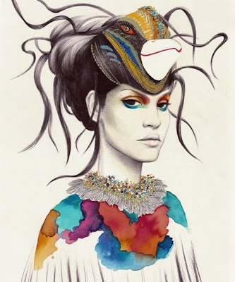 Stylish Fashion Illustrations