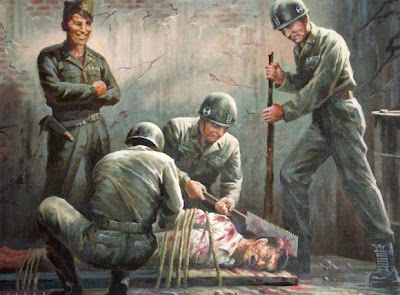 North Korean Barbarism Propaganda