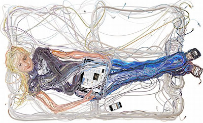 Beautiful Illustrations Of Wires By Charis Tsevis