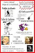 TALLERES INSCRIPCIONES ABIERTAS CONSULTAS AL MAIL