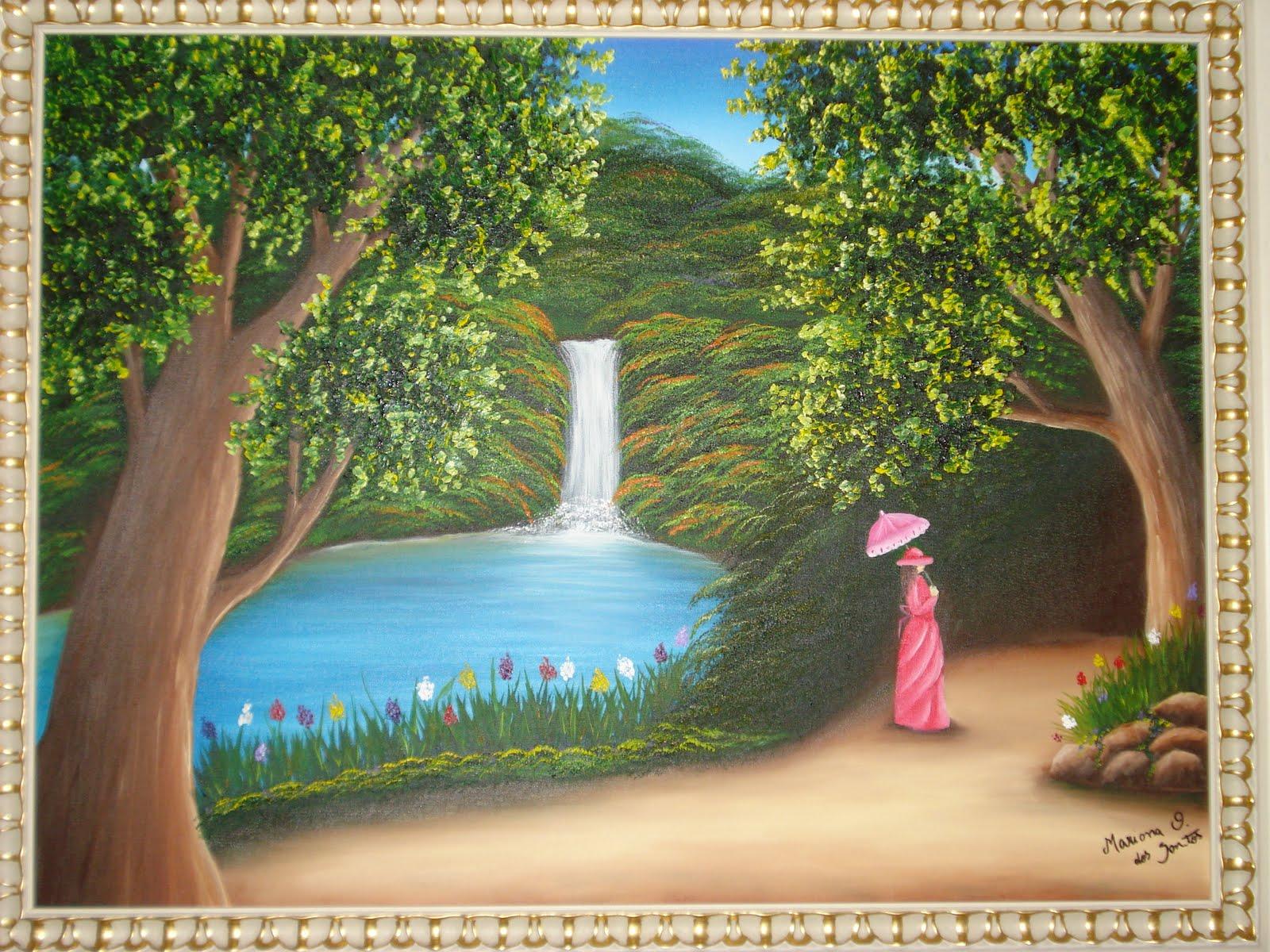 Amor & Arte: pintura em tela