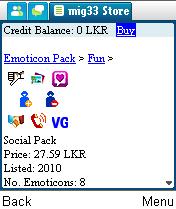 Amikom us tempat belanja hosting murah - Mig33 Emoticon Social Pack Mig33 Indonesia