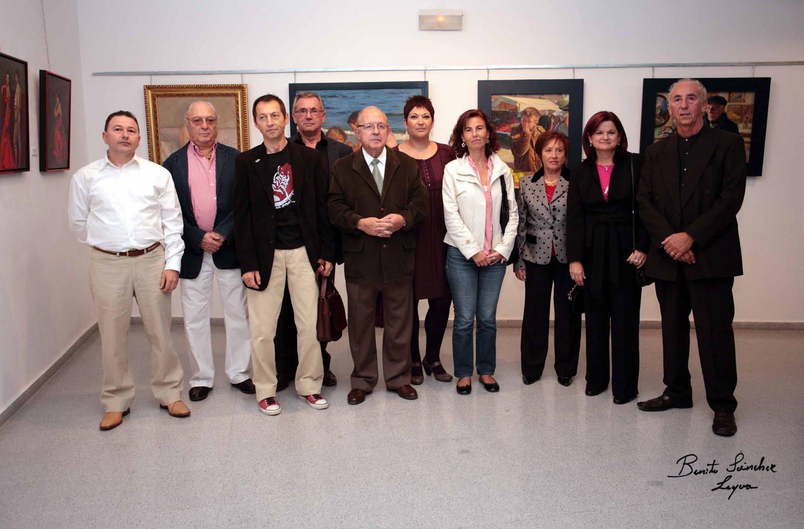 """EL GRUPO """"10 ARTISTAS ALICANTINOS"""" EN EL CAMPELLO 2009"""