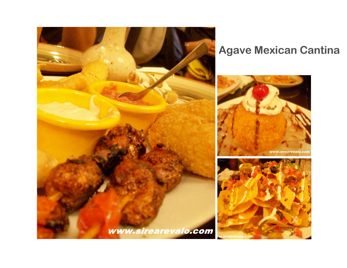 Munch and gulps july 2010 for Agave mexican cuisine