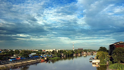 Afternoon Bright in River - Sungai Siak Part II