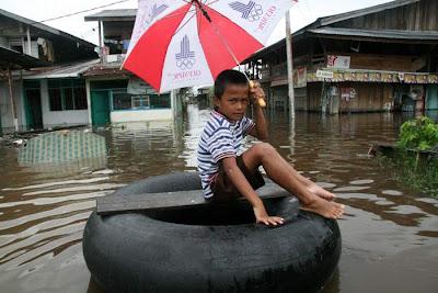 Time Too Sail - Rumbai, Pekanbaru - Riau Flood