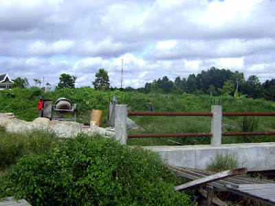 Trap Building near Siak Bridge