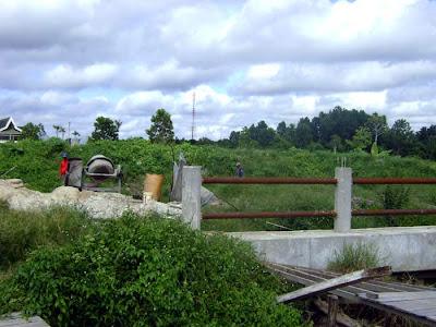 Trap Building near Siak Bridge