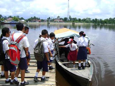 Across The River, Siak Community