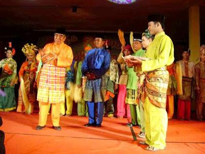 The Regent (Bupati Siak) in Siak Bermadah, Riau