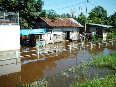 Banjir Meranti Pandak Rumbai Pekanbaru