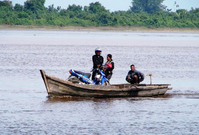 Transportation in the River of Riau