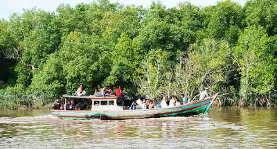 Riau Sea in Rokan Hilir, Foto Panipahan Riau