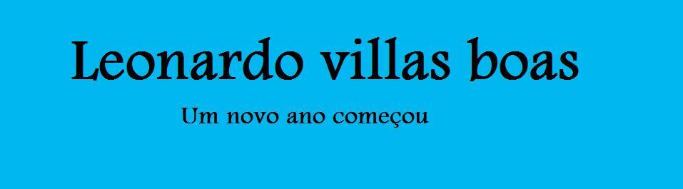 escola Leonardo Villas Boas