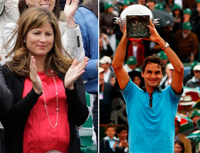 Galerry is the most beautiful and joyful day in Roger Federer and his family