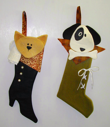 Sewing and Knitting Patterns Ideas: Christmas Stocking