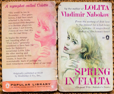 """an analysis of nymphets in lolita by vladimir nabokov Readers of lolita may vladimir nabokov """"nonsense is correct,"""" lolita says mockingly perhaps guessing that humbert's weakness for nymphets like herself."""