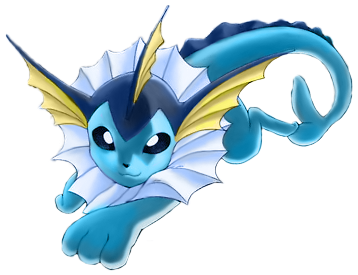 Vaporeon Happy