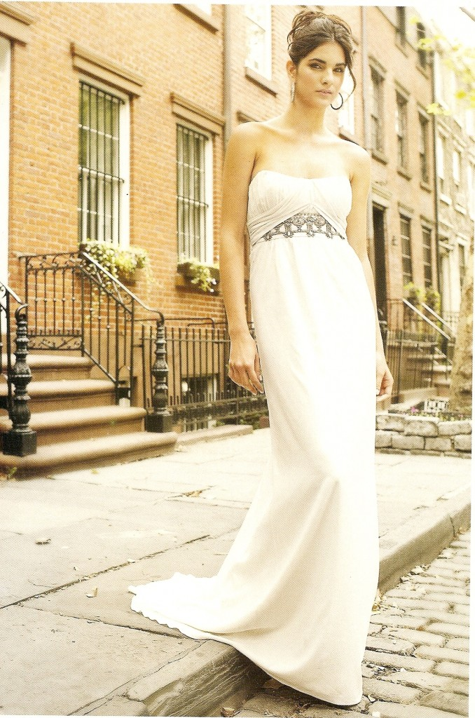 Bridal Galleria Egyptian Inspired Wedding Dresses