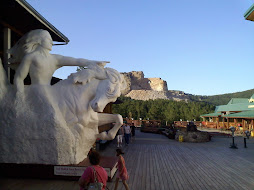 We saw Mount Rushmore & Crazy Horse