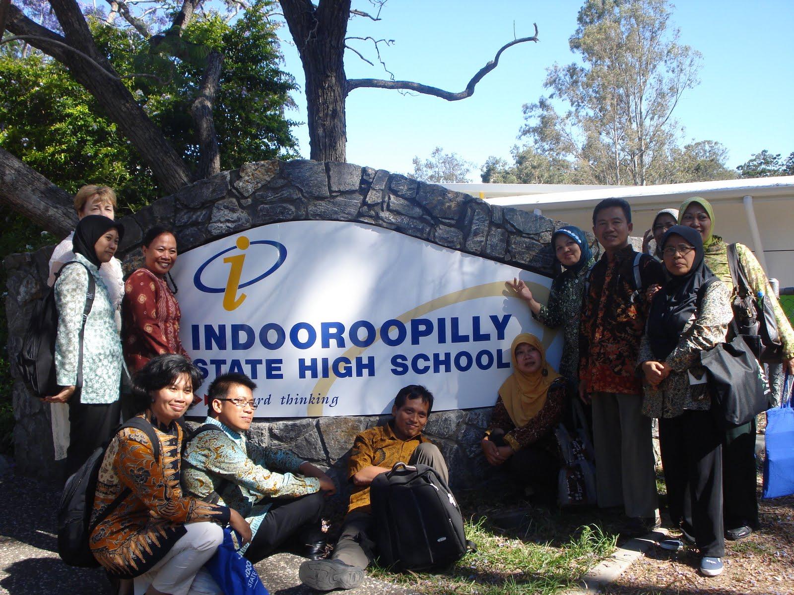 Subhanalloh, Very Fantastic !: Indooroopilly State High School