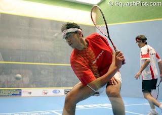 Mohamed El Shorbagy at this year's World Junior Championships