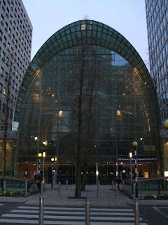 The East Wintergarden venue from outside