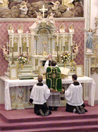 DEVOTION TO THE HOLY SACRIFICE OF THE MASS