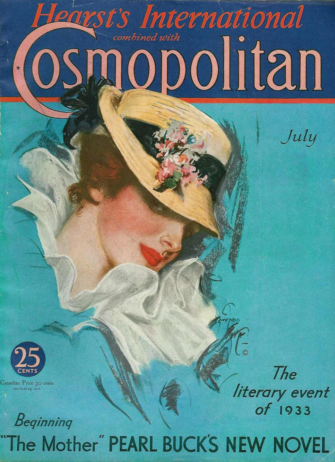gorgeous old magazine covers
