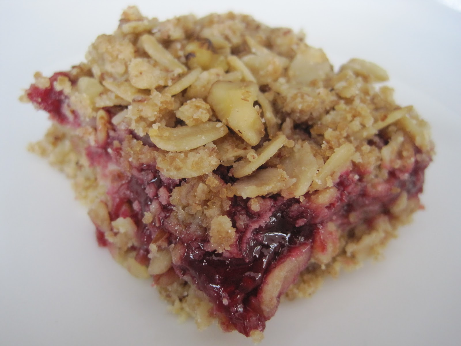Full Belly Sisters: Sweets for Your Sweet: Raspberry Oat Bars