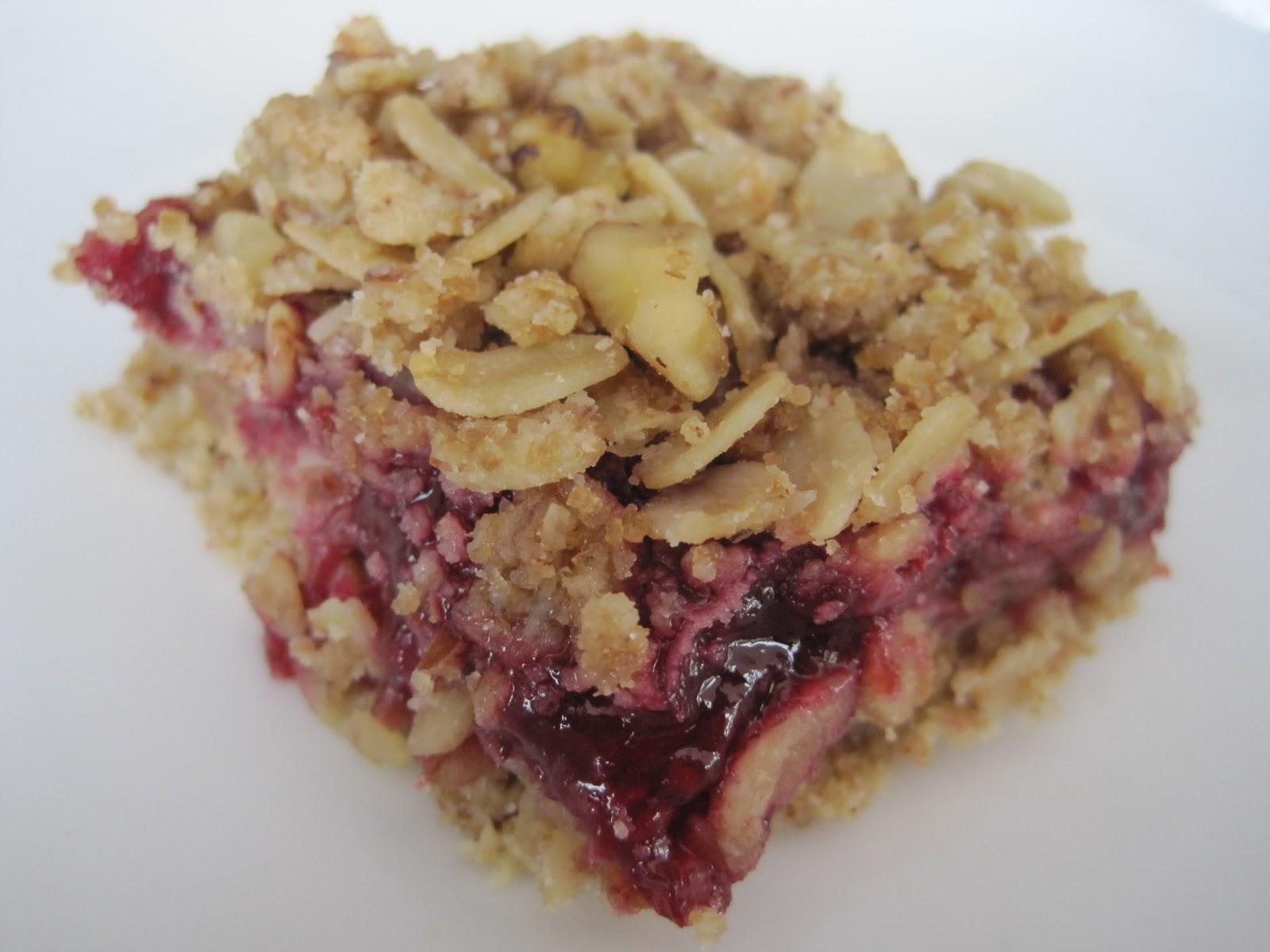 Raspberry Bars Recipe — Dishmaps
