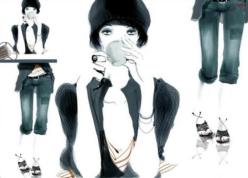 Sohpie Griotto Fashion Illustration Storyboards And Fashion