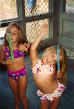 My sister and I when we were little