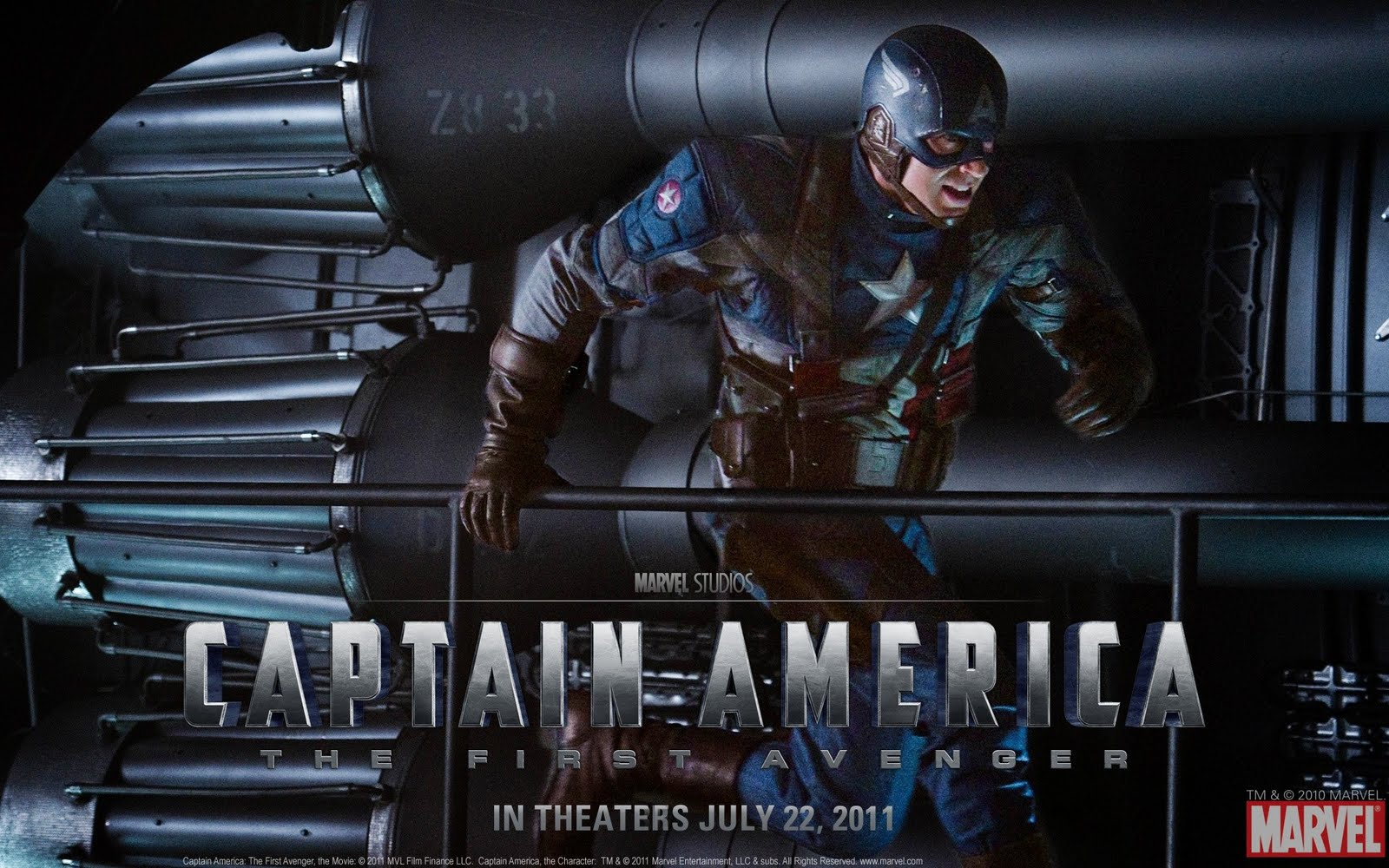 Capit  N Am  Rica America The First Avenger Pel  Cula