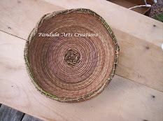 Pine Needle Basket coiling