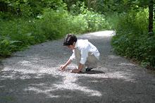 Jacob in Sacred Grove
