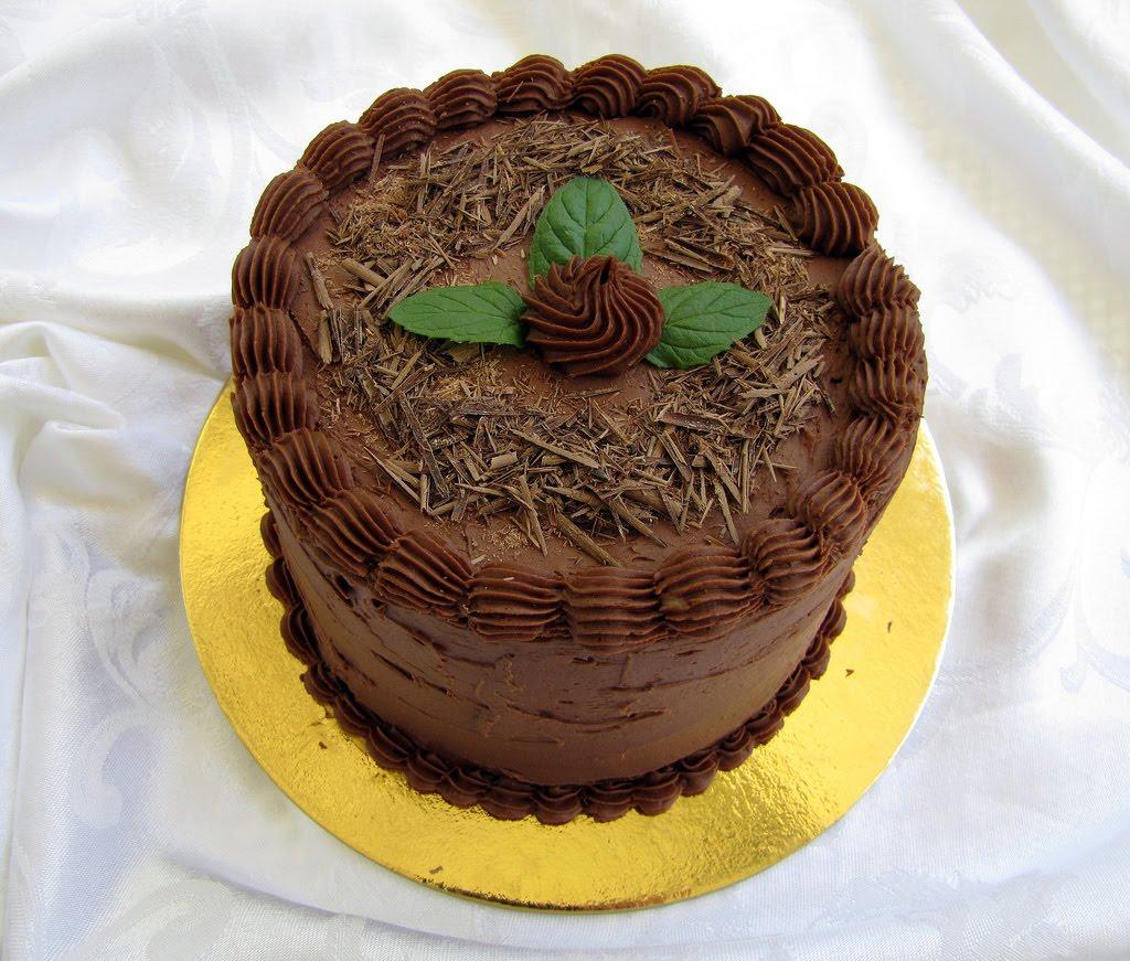 Zucchero Dolce - sweet sugar: Mint Chocolate Layer Cake